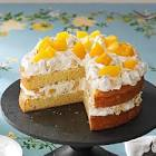 a peach of a cake