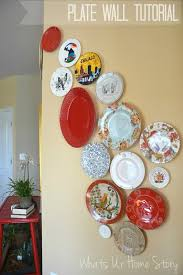decorative plate wall whats ur home story