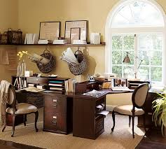 Small Picture Decorating Ideas For A Home Office Of well Home Office Decorating