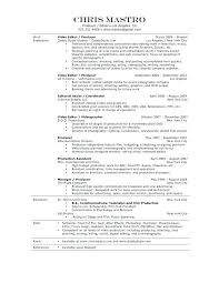 Fashion Production Assistant Resume Sample Easy Samples With