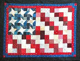 Flag Quilts Designed in Electric Quilt by Tish Douglas & Quilt size 40
