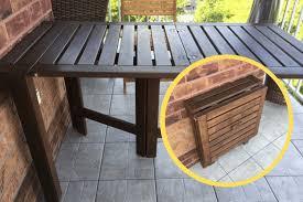 folding outdoor table ÄpplarÖ