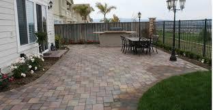 pavers ideas patio npnurseries home design simple yet applicable solution for paver patio ideas