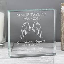 14 99 angel wings personalised crystal token