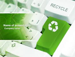 Recycling Technology Presentation Template For Powerpoint