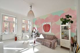 bring the essence of summer indoors wall murals in pastel colors by pixers