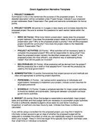 77 Printable Sample Grant Proposal Forms And Templates
