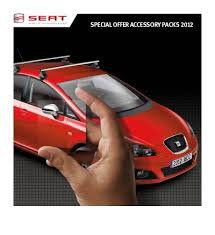 SPECIAL OFFER ACCESSORY PACKS 2012