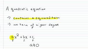 algebra i help writing a quadratic equation in standard form you