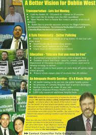 Felix Gallagher -Sinn Fein -Dublin West 2007 GE | Irish Election Literature