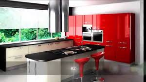 Red Kitchen Design Top 10 Red Kitchen Design Youtube