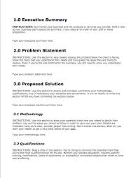 Template Of Business Proposal Ukranagdiffusion Mesmerizing Business Proposal Sample Format