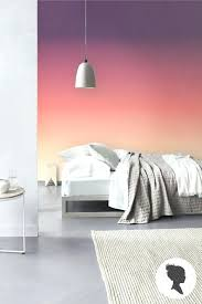 ombre bedroom beautiful sunset for a bedroom ombre paint wallpaper