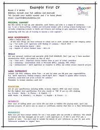 How To Write Resume For Job Sample Resume Letters Job Application