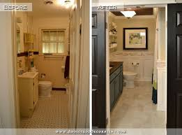 bathroom remodel pictures before and after. Brilliant And Bathroom Remodel  Before And After 1940s Original Bathroom Before  Updated Modern To Remodel Pictures Before And After