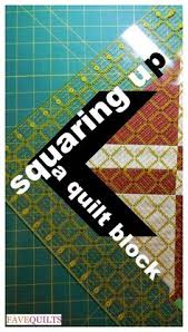Squaring Up Quilt Blocks | Squares, Tutorials and Quilt tutorials & Squaring Up A Quilt Block Adamdwight.com