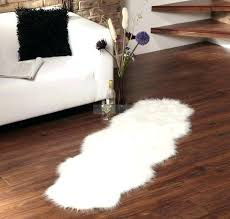 white fur rugs flooring furry area faux small sheepskin rug within decorations 9 giant big big white fur rug faux sheepskin area furniture