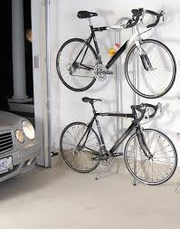 Indoor Bike Storage Two Bike Gravity Stand Bicycle Storage Rack Wall Mount Home Garage