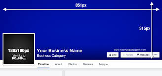 facebook cover photo dimensions profile picture design merements 851x315px in size 2018