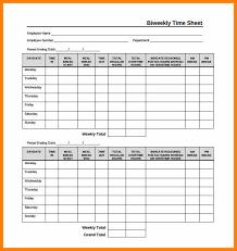 Printable Timesheets Bi Weekly Printable Timesheets Bi Weekly Free