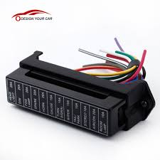 online buy whole metal fuse box from metal fuse box 12 way dc 12v volt fuse box 24v 32v circuit car trailer auto blade fuse box