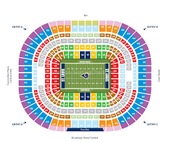 Edward Jones Dome Seating Chart Football Edward Jones Dome Seating Chart