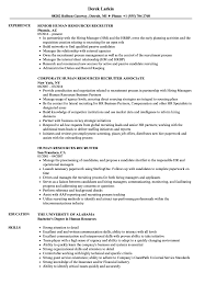 Human Resources Recruiter Resume Human Resources Recruiter Resume Samples Velvet Jobs 1