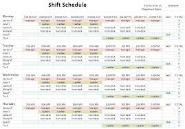 shift templates 10 hour schedule template work examples hr breast milk pumping diary