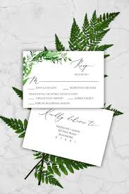Rsvp Card Template Per Page Cards Templates Microsoft Free