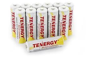 Amazoncom Combo 12 Tenergy AA NiCd Rechargeable Batteries For Solar Garden Lights Batteries Rechargeable