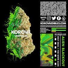 Alien Lights Strain Flower Korova