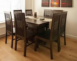 Dark Solid Wood Dining Table Gallery Dining Table Ideas