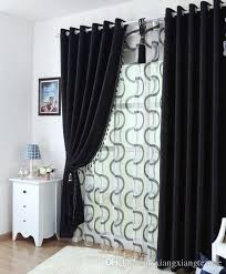 Black living room curtains Beige 2019 Thick Black And White Chenille Curtains Upscale Modern Bedroom Living Room Curtain Fabric From Xiangxiangtextile 3094 Dhgatecom Dhgatecom 2019 Thick Black And White Chenille Curtains Upscale Modern Bedroom