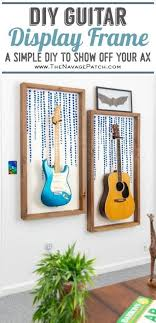 diy guitar display frame the navage patch