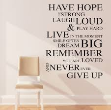 about have hope inspirational wall stickers es art decals scheme of inspirational es wall decals