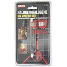 500w Halogen Work Light Bulbs Bayco Sl209pdq Replacement Bulb For 500w Halogen Work Lights Single Pack