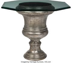 Glass form furniture Vincenzo De Furniture Continental Large Cast Iron Urnform Table With Glass Top Furniture In Brooklyn At Gogofurniturecom Large Cast Iron Urnform Table With Glass Top 30 32 Lot