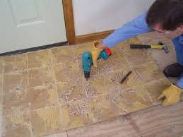 magnificent ideas how to remove tile glue from wood floor removing tile fin soundlabclub
