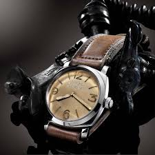 harrods hosts an exhibition of rare panerai watches on loan from featuring a radiomir dial and rolex 618 17 jewel movement only 36 panerai 6154 s