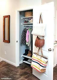 entryway coat closet entryway closet door ideas organized foyer coat closet closet ideas for small spaces entryway coat closet