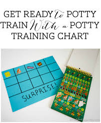 Get Ready To Potty Train With A Potty Training Chart