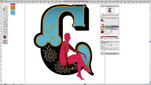 Graphic Design Lessons Adobe Illustrator Tutorial Create Art Deco Type Art