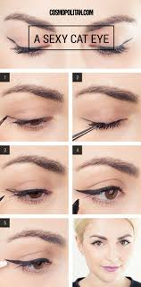 makeup tutorial how to create a perfect cat eye every single time