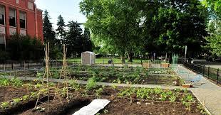 portland community garden grant high school