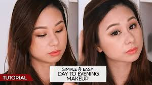 tutorial simple easy day to evening makeup