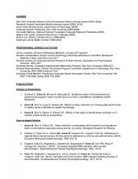 Psychology Resume Sample Tomyumtumweb Psychology Resume Templates In