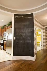 black chalkboard paint for empty wall decoration