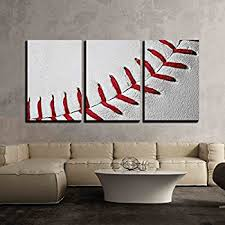 baseball wall art