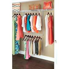 hanging closet rod on drywall simple sy support for shelves and