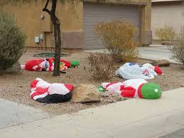 the aftermath of santa s annual party